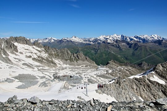 Italy-outlook on the Passo Paradiso