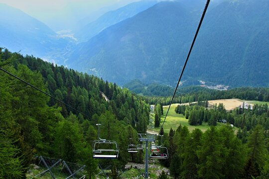 Italy-view from the cableway