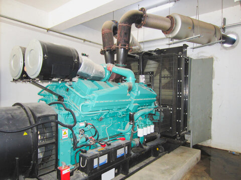 Backup generators in the event of an emergency power failure