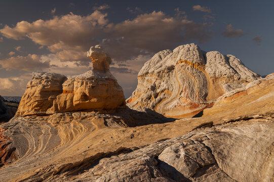 Clouds Over Hoodoo White Pocket Arizona