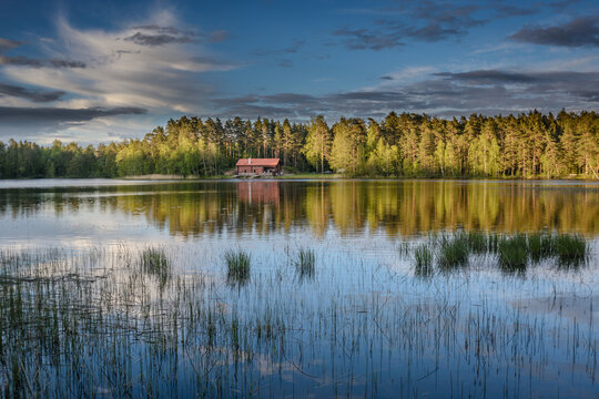 TOURISM: Swedish lake and forest