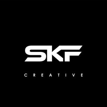SKF Letter Initial Logo Design Template Vector Illustration