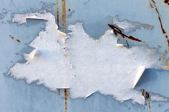 Papel rasgado blanco Fondo blanco rasgado tiras de papel poster triturados Carteles texturas gruesas Fondo de superficie Espacio para texto