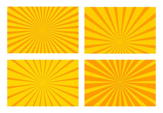sun beam yellow  background