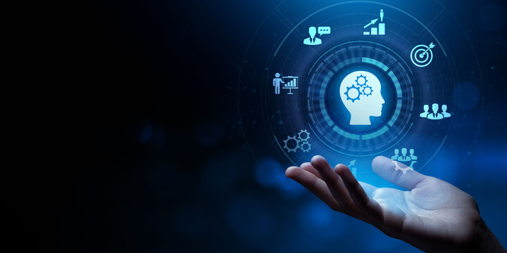 Training Webinar Learning Education Internet business concept