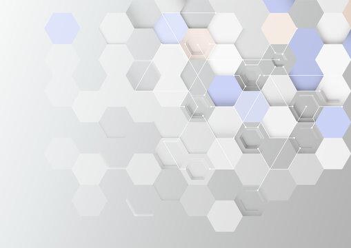 アブストラクト背景。ネットワーク、テクノロジーのイメージ。