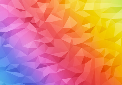 color abstract polygonal geometric texture background