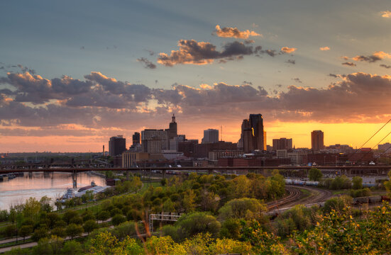 Downtown St Paul Minnesota