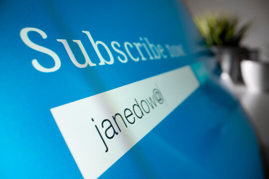 Subscribing to email updates