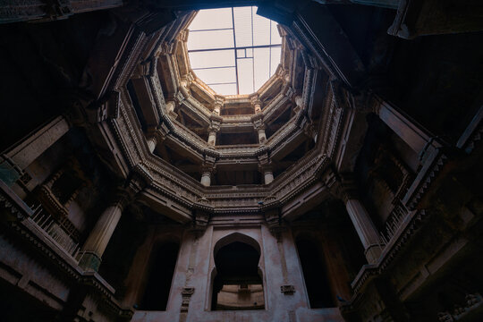 The Adalaj Stepwell, Adalaj, Ahmedabad, Gujarat, India
