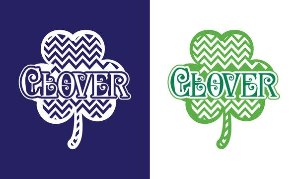 Clover SVG Cut File | Lucky Clover SVG | Shamrock SVG | Saint Patricks Day SVG | Clover Leaf SVG | Lucky Clover | St Patricks Day SVG | Three Leaf SVG | St Paddy Day