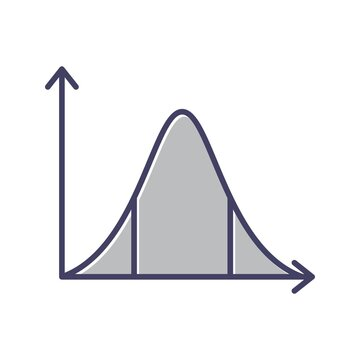 Unique Statistics Line Vector Icon