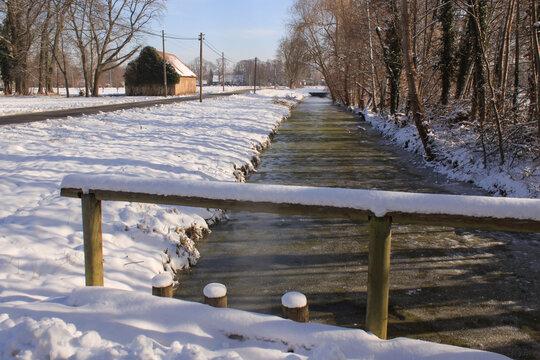 Winter im Spreewald (Burg Kolonie)