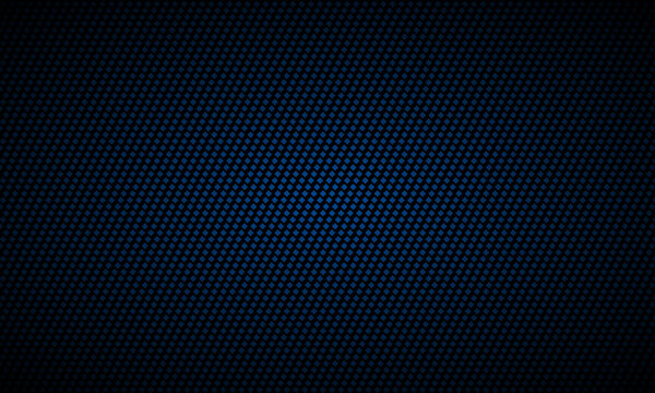 Dark blue background. Dark metal texture steel background. Navy blue carbon fiber texture. Web design template vector illustration EPS 10.