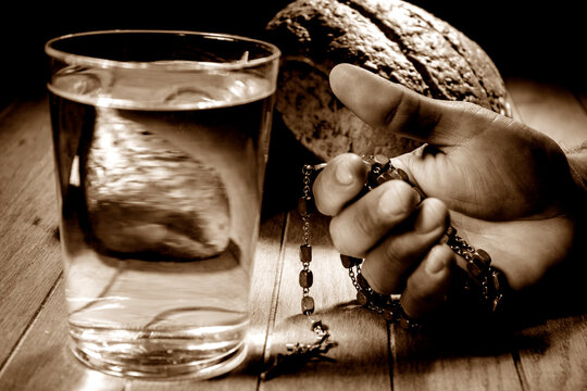 Fasting for bread and water