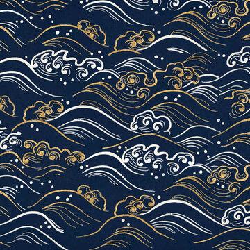 Oriental art vector design element