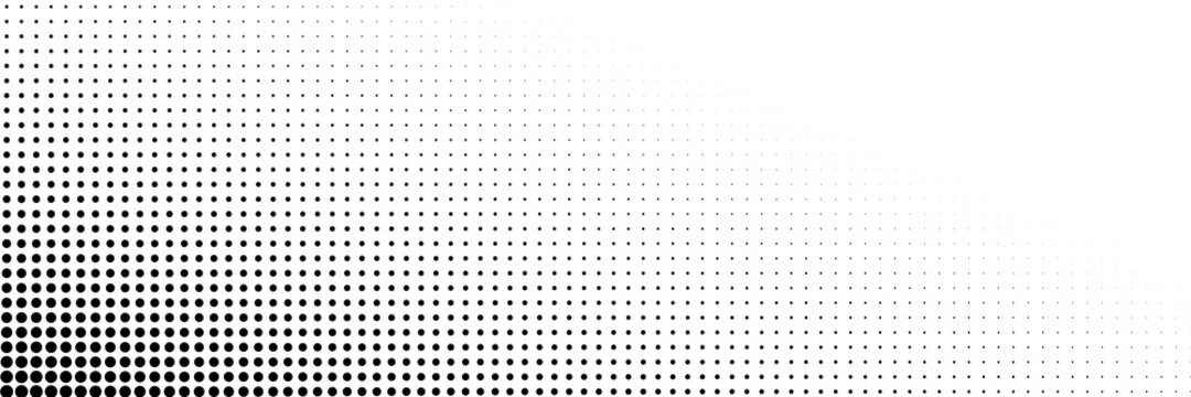 Dot Background, Halftone Texture, Gradient Dots Pattern