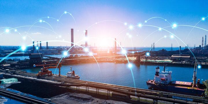 産業とネットワーク 船舶無線 海運 物流