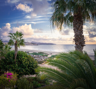 Costa Calma Paradise Beach at Fuerteventura –Canary Islands, Spain
