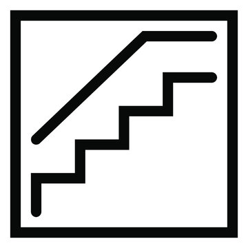 Stairs, Stairs icon