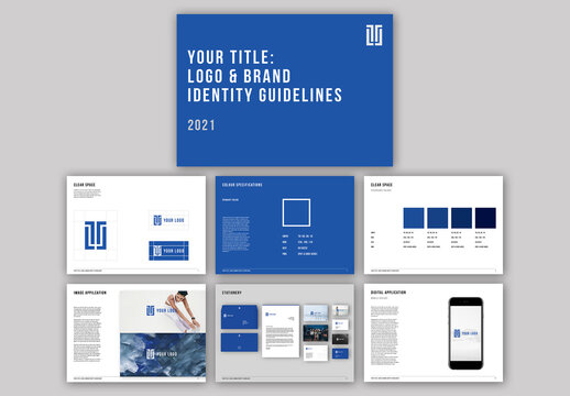 Brand Guidelines Manual Layout