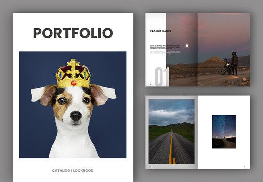 Portfolio or Lookbook Layout