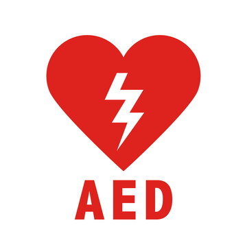 AED Emergency defibrillator icon