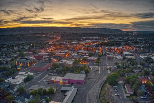 Rock Springs is the 5th Largest Town in Wyoming and a Stop on a Passenger Train Line