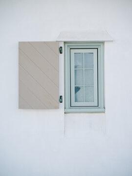 Mint green window