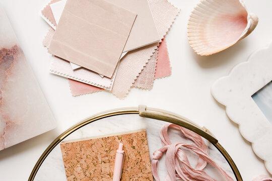 blush pink design inspiration