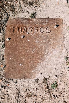The ancient town of Tharros, Sardinia - Italy