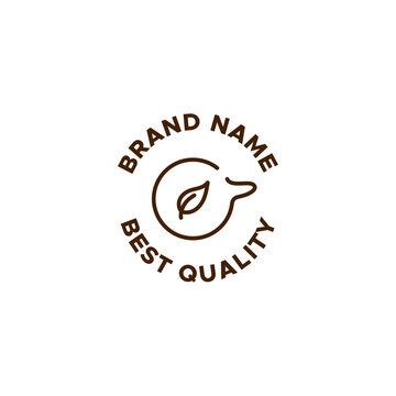 coffee logo concept identity for Restaurant, Cafe, Royalty, Boutique, Heraldic, and other vector illustration