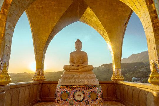 Buddha Statue In Wat Phra Thad Pha Son Kaew