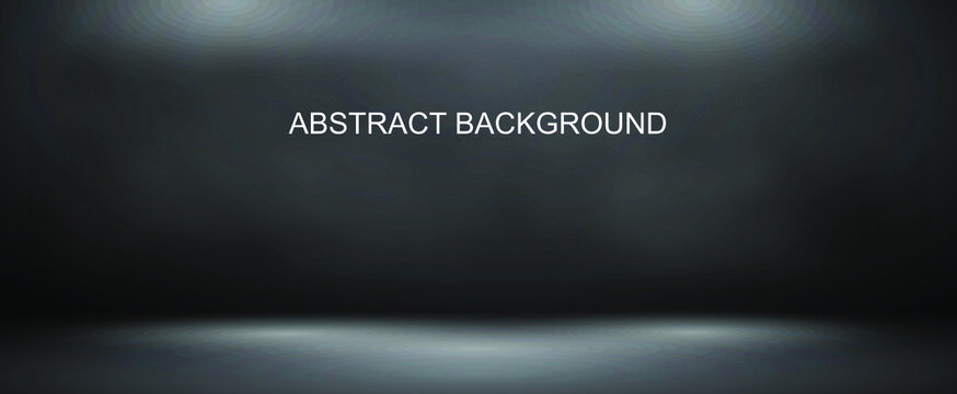 Abstract gray backgrounds, studio and clean rooms - can be used to showcase or montage your products.