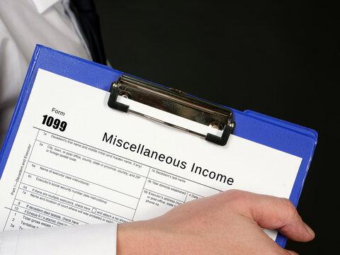 Form 1099 Miscellaneous Income