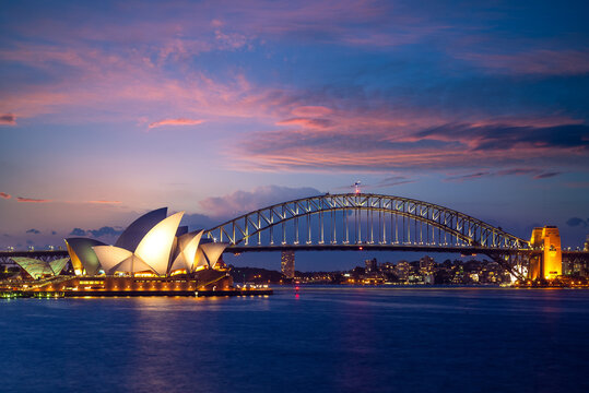 January 5, 2019: sydney opera house, a multi venue performing arts centre at Sydney Harbour located in Sydney, New South Wales, Australia. It became a UNESCO World Heritage Site on 28 June 2007.