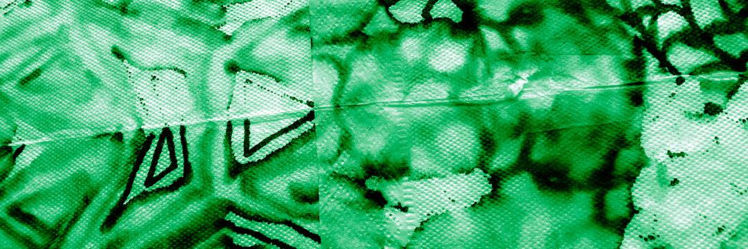 Skin Fabric Animal. Lime Snake Texture. Colorful