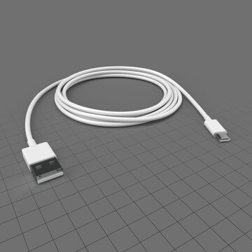 USB C to USB cable