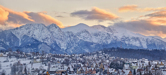Tatra Mountains. - fototapety na wymiar