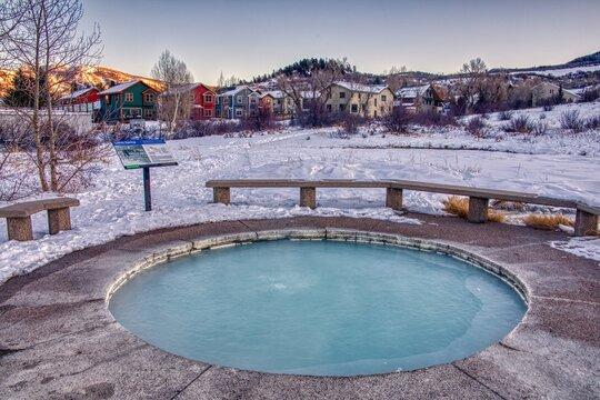 Mineral Springs in Steamboat Springs, Colorado