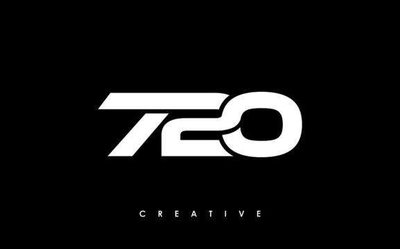 720 Letter Initial Logo Design Template Vector Illustration