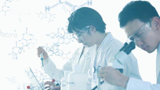 化学イメージ 科学技術