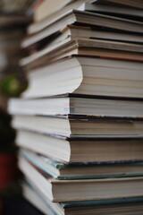 Full Frame Shot Of Books - fototapety na wymiar