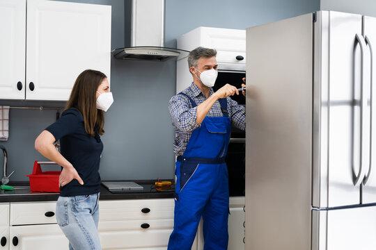Fridge Repair Service. Refrigerator Repairman Technician