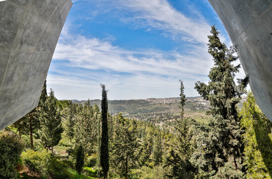 Israel, Jerusalem. Yad Vashem, the World Holocaust Remembrance Center.