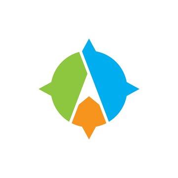 Compass logo images