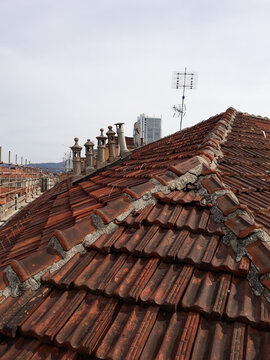 roofscape view from a roof