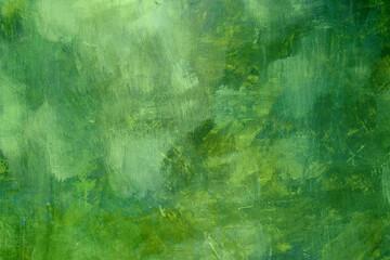 Fototapeta Green grunge canvas