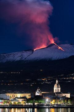 Etna: 22 dicembre 2020