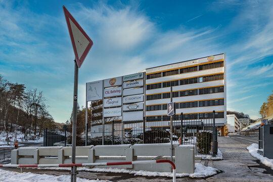 BIONTECH Headquarters in Marburg